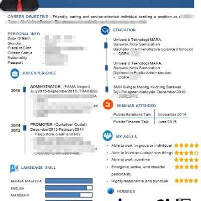 cara membuat resume terbaru cara membuat resume 1 halaman template stylo dan terbaru 2016