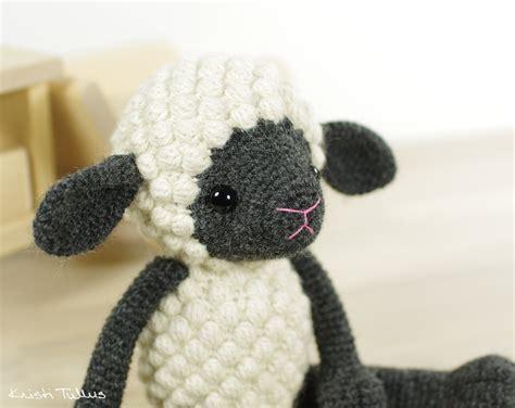 amigurumi sheep crocheted sheep pattern