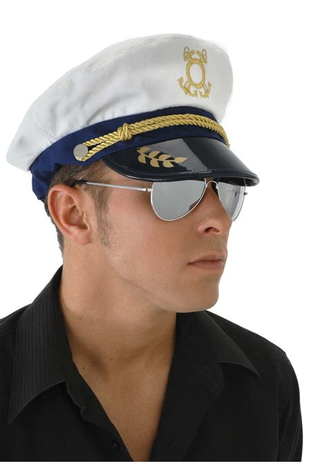 How To Make A Captain Hat Out Of Paper - sailor s captain hat mens sailor costume accessories