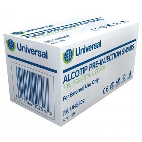 Oneswab Tissue uni wipe alcotip swabs with 70 ipa