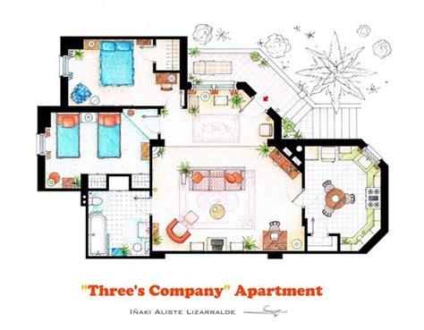 interesting floor plans interesting detailed floor plans of tv shows by