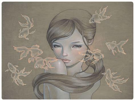 releases audrey kawasaki prints x 2 my dishonest heart