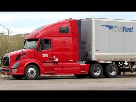 first volvo truck first fleet volvo trucks youtube