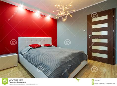 modern master bedroom stock image image  colorful