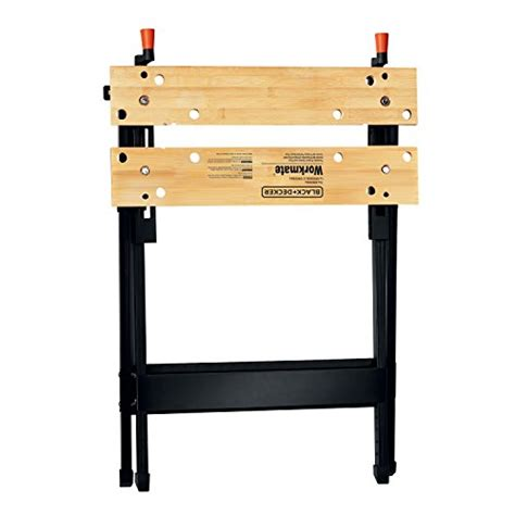 portable work benches black decker hand tool prevent sliding workmate capacity