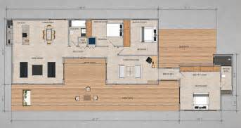 Contemporary Modular Homes Floor Plans by Contemporary Prefab Home For A Writer