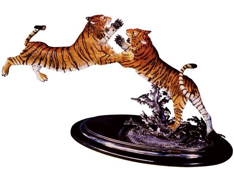 Horse Statues For Home Decor by The Intruder Bengal Tiger Sculpture