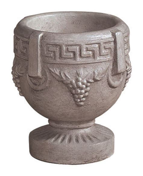 grecian urn small planter 17 quot high