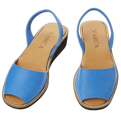 7 Must Sandals by Cobalt Blue Leather Sandals Varca Menorcan Sandals