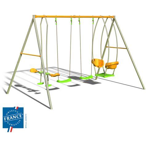Portique Balancoire Enfant by Portique M 233 Tal 2 20 M Avec Balan 231 Oires 224 Et