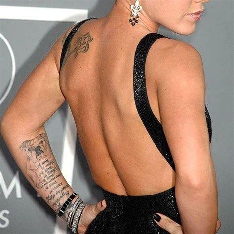 Tattoo On Pinks Arm | pink s arm hand tattoos popstartats