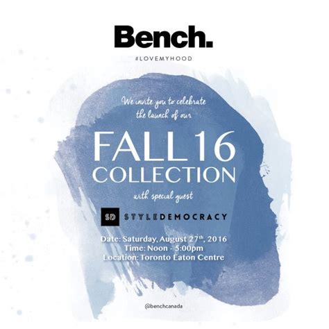 Come Shop N Mingle by Bench X Styledemocracy Macintyre Communications