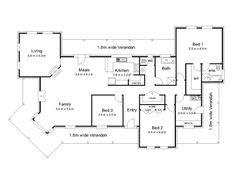 the bourke 171 australian house plans house plans the bourke 171 australian house plans house plans