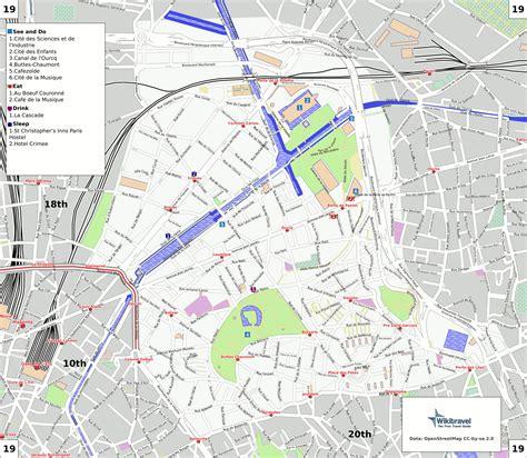Plan 19 232 Me Arrondissement Paris Carte 19 232 Me