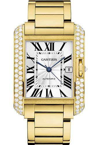 Cartier Cyntia 9005 Set cartier tank anglaise yellow gold with diamonds watches