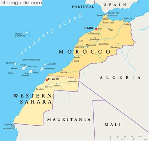 africa map morocco image gallery morocco map africa