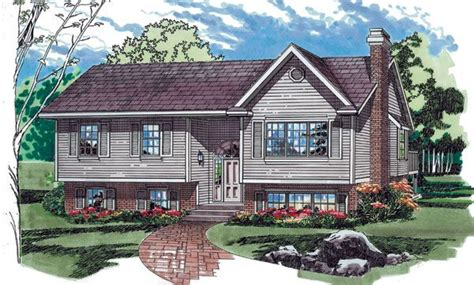 Split Level Ranch House Plans Split Level House Plans Raised Ranch House Plans Designs