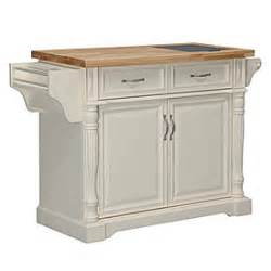 view cream kitchen cart with granite insert deals at big lots