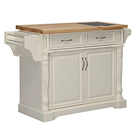 view kitchen cart with granite insert deals at big lots