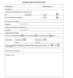 personal loan application form template loan application templates 6 free sle exle