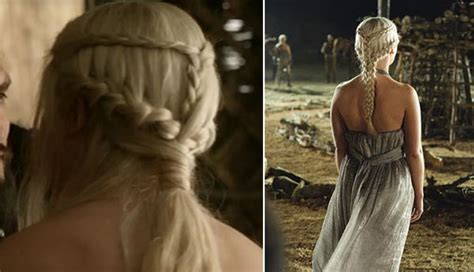 how to do khaleesi braids game of thrones hairstyles khaleesi braids hairstyle