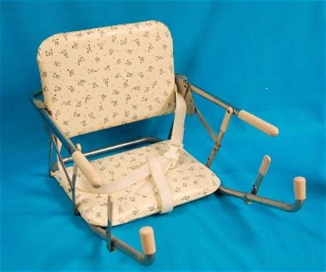 baby booster seat that attaches to table vtg bilt rite booster seat baby feeding portable high