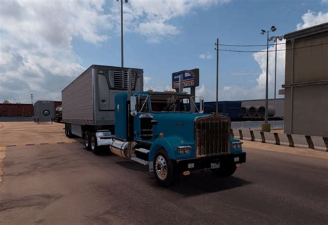 kenworth w900a kenworth w900a fix for ats ats mod american truck