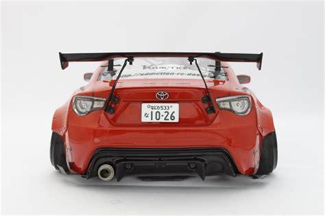 86 Toyota Parts Rocket Bunny 86 Rear Diffuser Parts For Tamiya