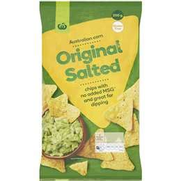 hot chips woolworths corn chips salsa woolworths
