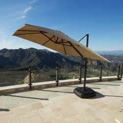 portofino signature patio resort umbrella backyard