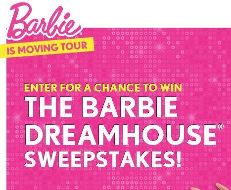 Barbie Giveaways - barbie dreamhouse giveaway 80 winners