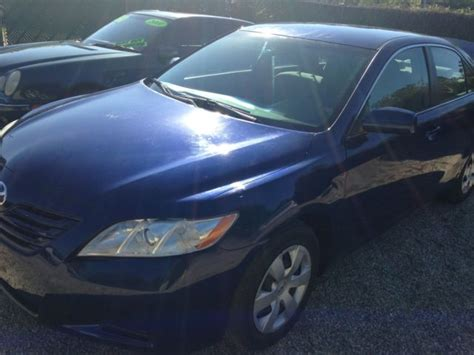 Toyota Camry Generations Blue 2007 Toyota Camry New Generation Ce 49 233miles