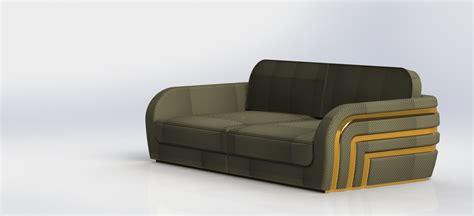 simple modern sofa simple modern sofa 3d model stl sldprt sldasm slddrw