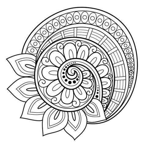how to color mandalas flower mandala coloring page free blossoms
