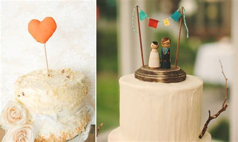 Handmade Wedding Cake Toppers - 8 creative wedding cake toppers handmade weddings onewed
