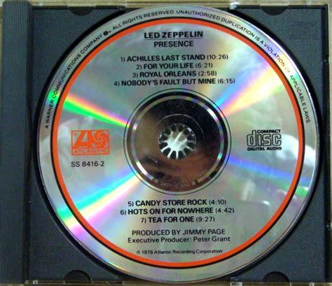 Cd Led Zeppelin Presence Obi led zeppelin cd identification help steve hoffman forums