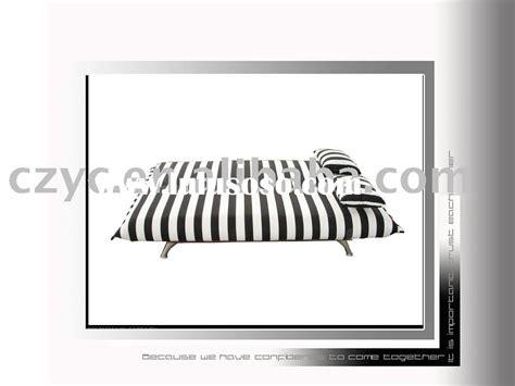 black and white striped sofa black and white futon cover