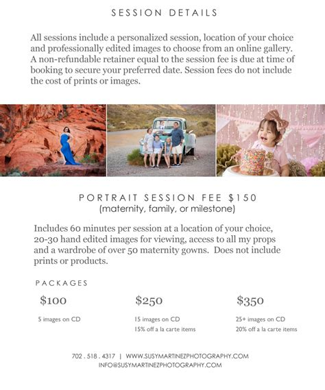 Portrait Photography Pricing by Portrait Pricing Las Vegas Newborn Maternity