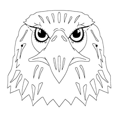 eagle head coloring pages eagle head coloring pages kids coloring pages