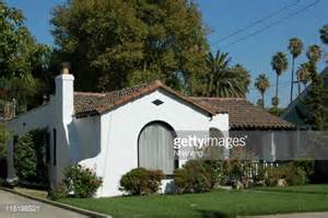 Spanish Revival Bungalow spanish colonial revival bungalow stock photo getty images