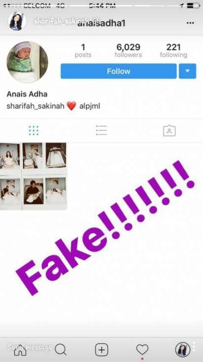 membuat instagram palsu sakinah berang anak jadi mangsa instagram palsu artikel