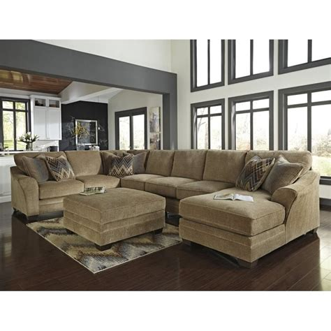 ashley 2 piece sectional sofa ashley lonsdale 2 piece right chaise sofa sectional set in