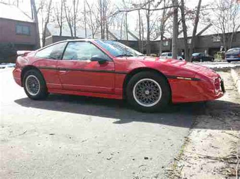 where to buy car manuals 1986 pontiac fiero regenerative braking buy used 1986 pontiac fiero gt in midlothian virginia united states for us 3 500 00