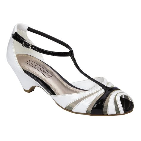 s dress shoe elana white black