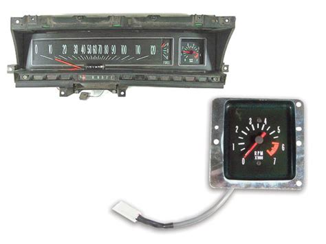 chevrolet sweep dash tachometer conversion