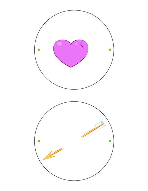 thaumatrope template printable arrow thaumatrope printable scouts