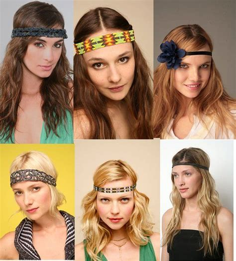 how to wear your hair in your 60s hippie headbands get your groove on shining