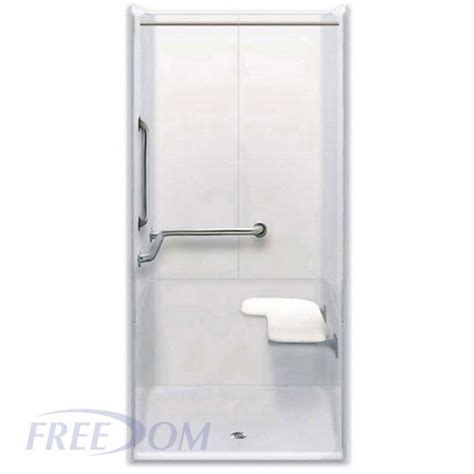 Transfer Shower freedom ada transfer shower left valve 3 40 quot x 39 quot