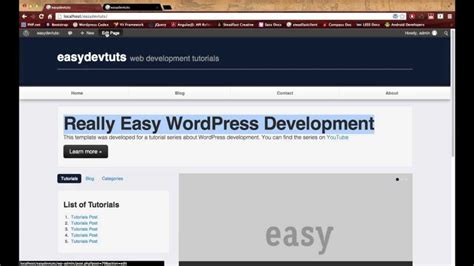 tutorial wordpress advanced wordpress development tutorials pt 18 advanced custom