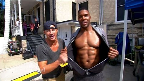 magic mike xxl behind the michael strahan gives a behind the scenes look at magic